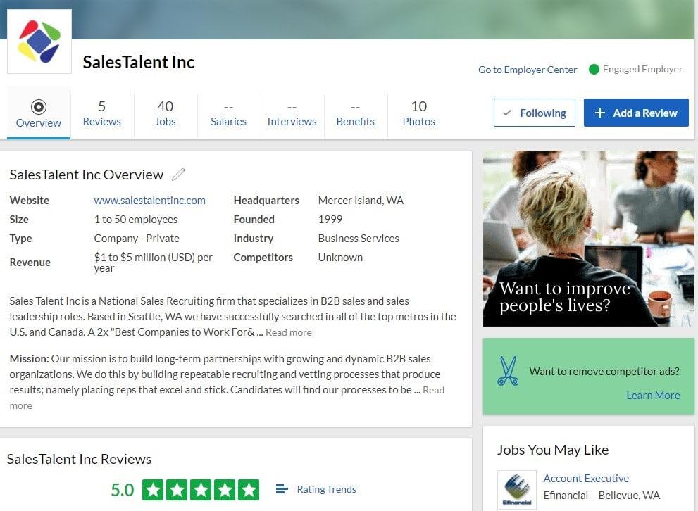 5 Steps How To Fix Negative Glassdoor Reviews Sales Talent Inc
